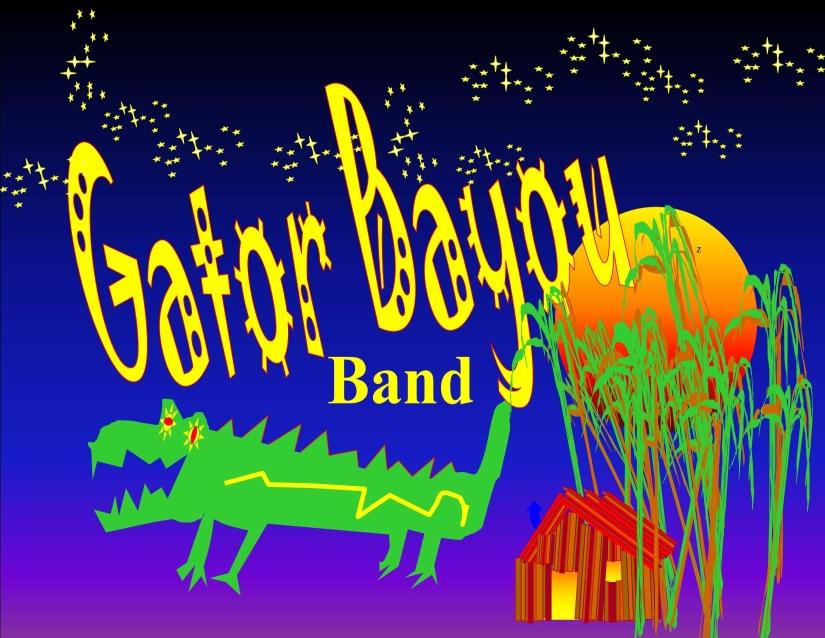 Gator Bayou Band Logo